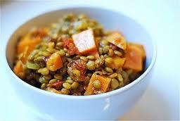 Sweet Potato Lentil Stew!