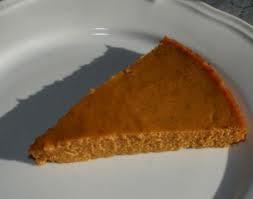 A Christmas Hit: Crustless Pumpkin Pie!