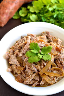 Slow Cooked Pulled Pork Tenderloin With Apples!