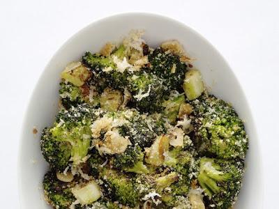 Lemon Parmesan Broccoli!