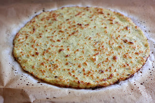 Gluten Free Cauliflower Pizza Crust