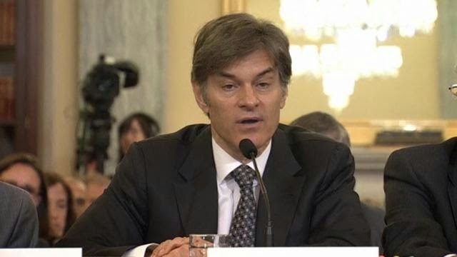 Dr Oz Swallows A Bitter Pill at the US Senate