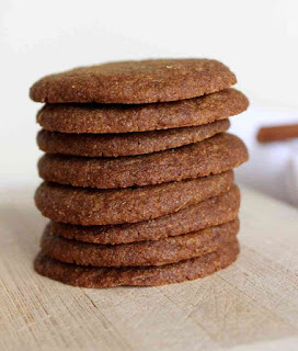 Whole Wheat Ginger Snaps!