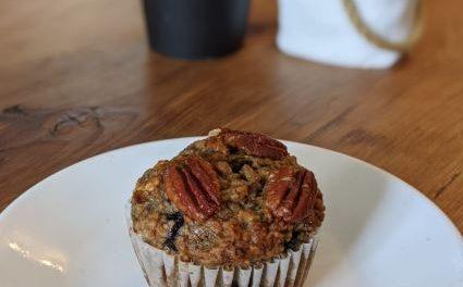 Mom's Banana Blueberry Muffin Recipe!